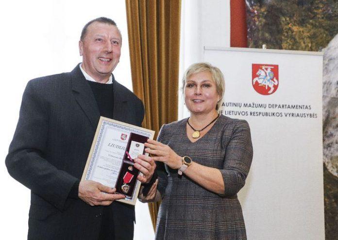 Vilniaus arkivyskupijos kunigui Vidmantui Rudokui