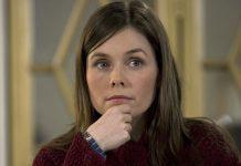 Islandijos pemjerė Katrina Jakobsdottir