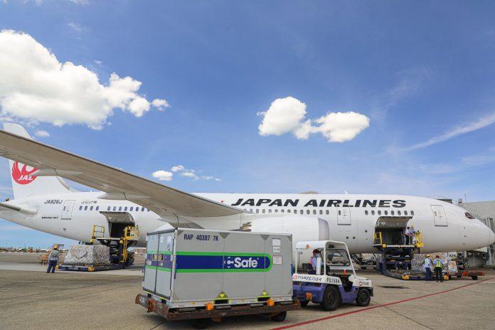 Vakcinų pristatymas į Japoniją