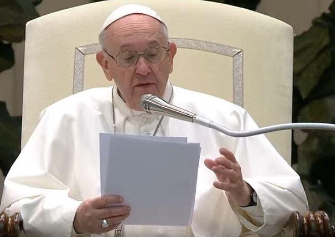 Popiežius Pranciškus / Twitter nuotr.