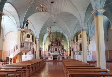 Salų Šv. Kryžiaus bažnyčia / KIC nuotr.