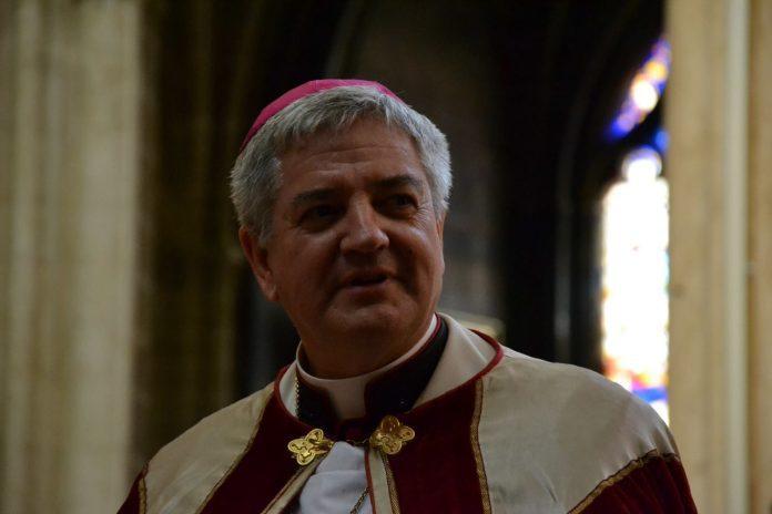 Prancūzijos vyskupas Marc Aillet