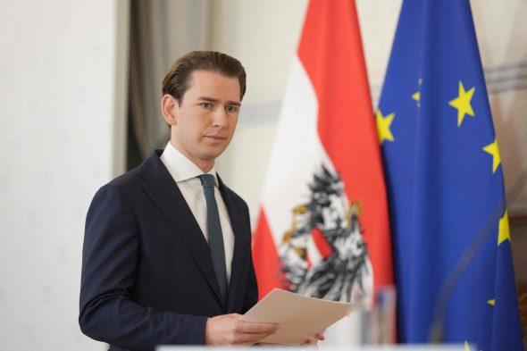 Austrijos kancleris Sebastianas Kurzas