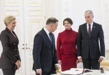 Prezidentas Gitanas Nausėda susitinka su Lenkijos prezidentu Andrzejumi Duda