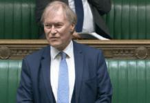 Nužudytas britų parlamentaras Davidas Amessas