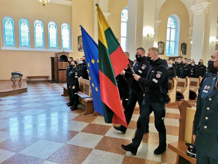 Šv. Mišios Tauragėje policijos dienos proga