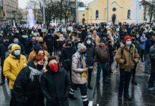 Protestas Taline, Estijoje