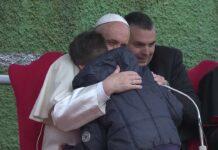 Popiežius Pranciškus su Emanueliu