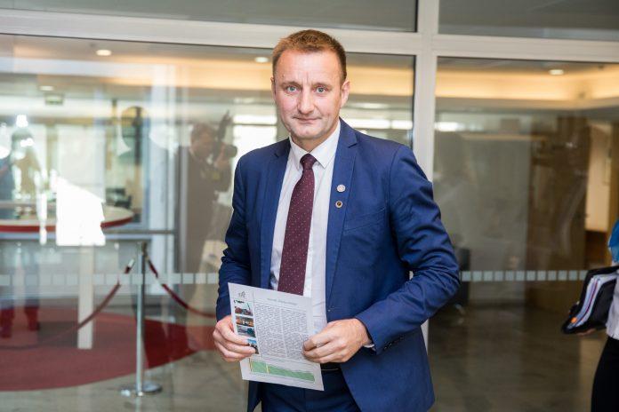 Šiaulių miesto meras Artūras Visockas